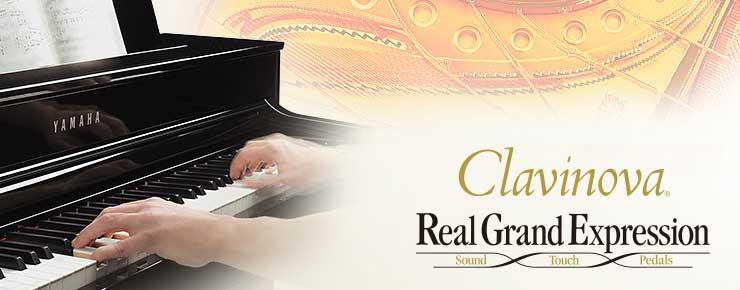 Clavinova-Pianos