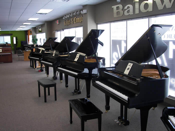 nc pianos showroom