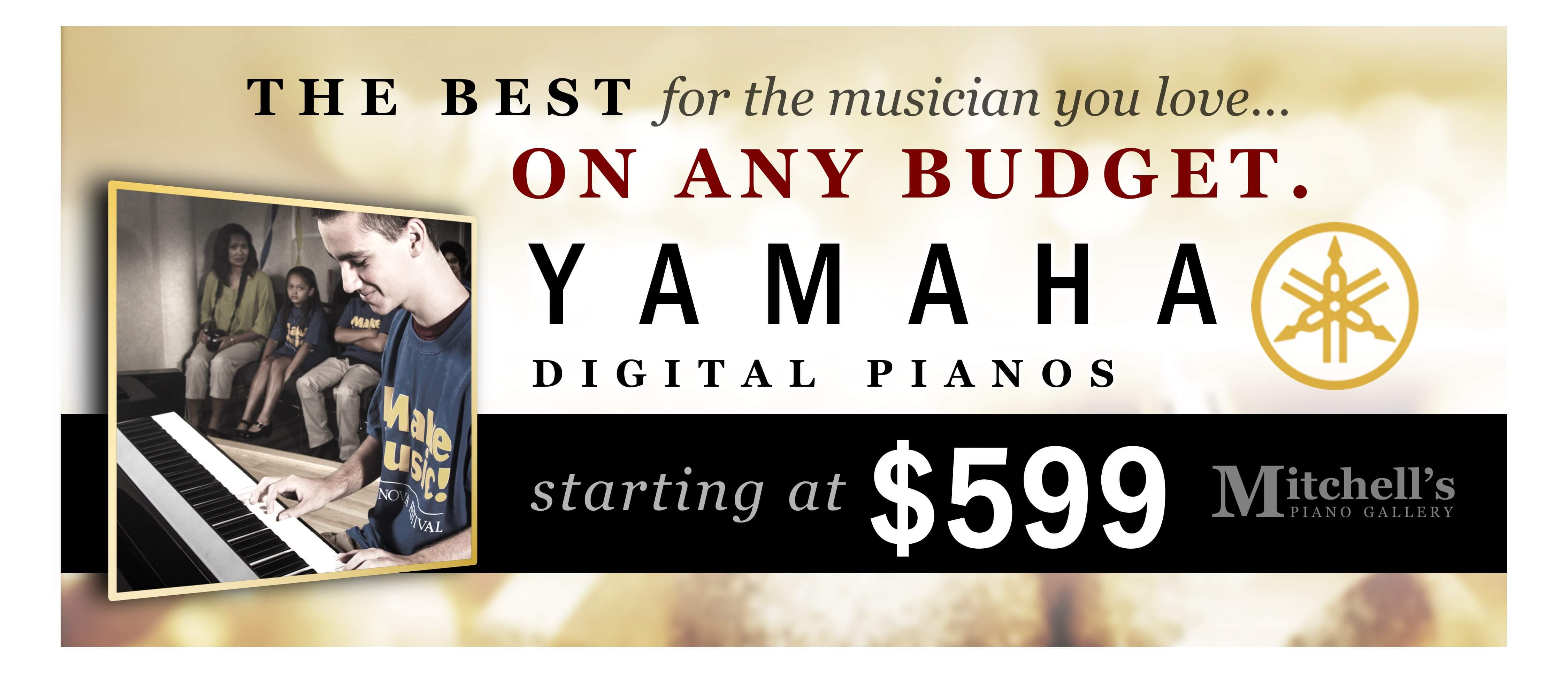 Digital Piano Web Ad